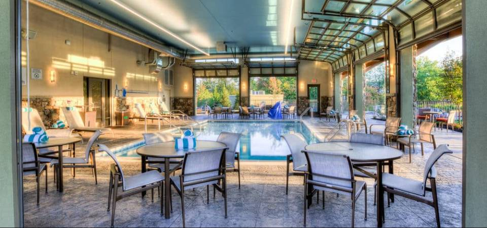 Courtyard Marriott Pigeon Forge Tn Pool And Lazy River