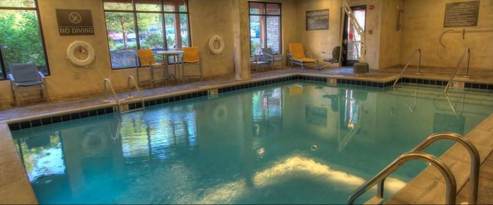 View of the Heated Indoor Pool at the Hampton Inn Pigeon Forge on Teaster Lane