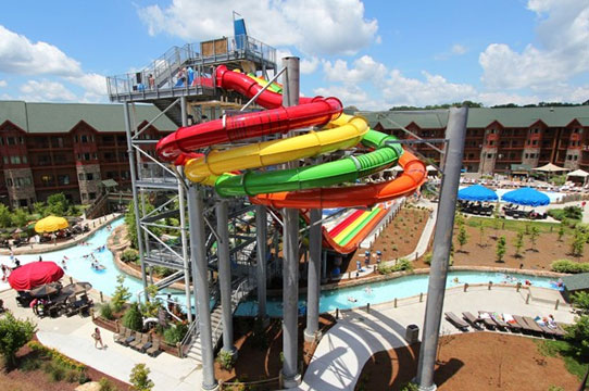 Wyndham Great Smokies Lodge Water Park