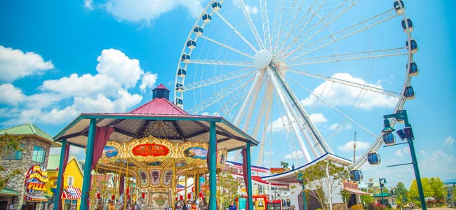 The Island Pigeon Forge Tn Attractions Shopping